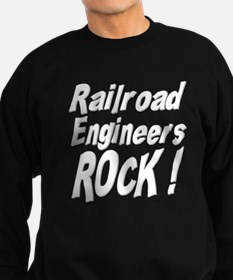 Railroad Engineers Rock ! Sweatshirt (dark)