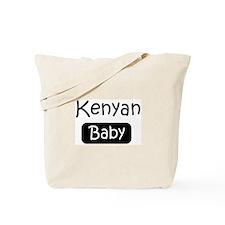 Kenyan baby Tote Bag