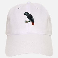 Gray Parrot Bird Baseball Baseball Cap