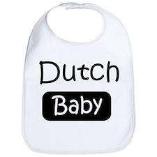 Dutch baby Bib