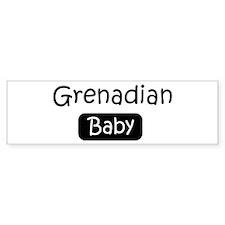 Grenadian baby Bumper Bumper Sticker