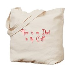 No Devil in the Craft (3) Tote Bag