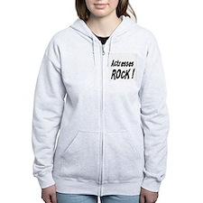 Actresses Rock ! Zip Hoodie