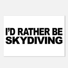 I'd Rather Be Skydiving Postcards (Package of 8)