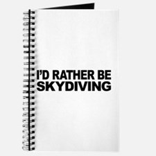 I'd Rather Be Skydiving Journal