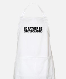 I'd Rather Be Skateboarding BBQ Apron