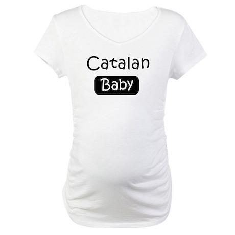 Catalan baby Maternity T-Shirt