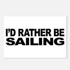 I'd Rather Be Sailing Postcards (Package of 8)