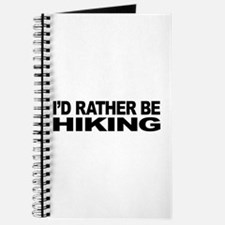 I'd Rather Be Hiking Journal