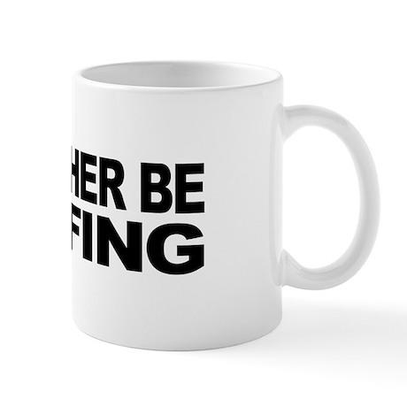 I'd Rather Be Golfing Mug