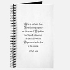 LUKE 4:23 Journal