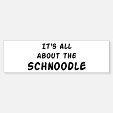 about the Schnoodle Bumper Bumper Bumper Sticker