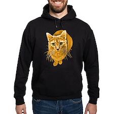 Orange Cat Hoodie