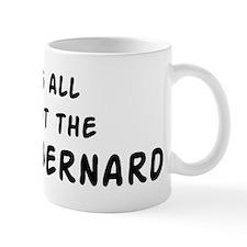 about the Saint Bernard Mug
