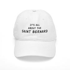about the Saint Bernard Baseball Cap
