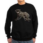 Creepy Monkey Sweatshirt (dark)