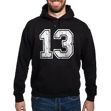 Retro 13 Number Hoodie