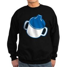 Cute Blue Sip Cup Sweatshirt