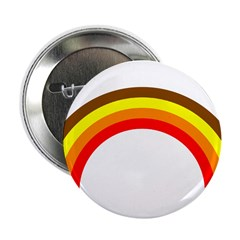 """Brown Rainbow 2.25"""" Button"""