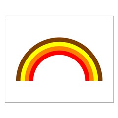 Brown Rainbow Posters