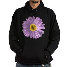 Pop Art Purple Daisy Hoodie