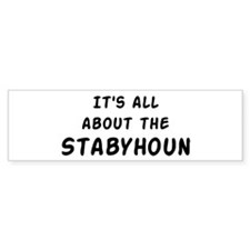 about the Stabyhoun Bumper Bumper Sticker