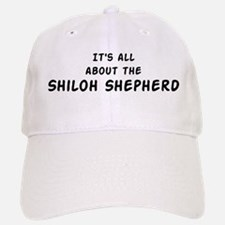 about the Shiloh Shepherd Baseball Baseball Cap