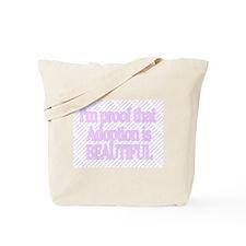 I'M PROOF THAT ADOPTION IS BEAUTIFUL Tote Bag