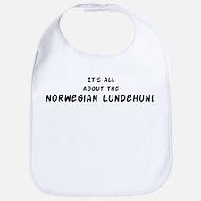 about the Norwegian Lundehund Bib