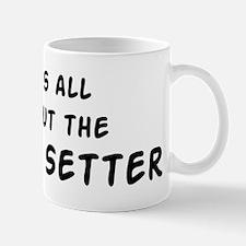 about the Irish Setter Mug