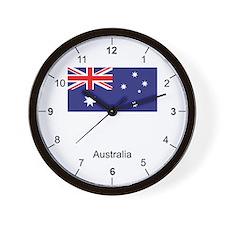Australian Wall Clock