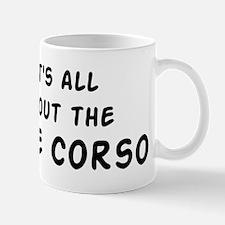about the Cane Corso Mug