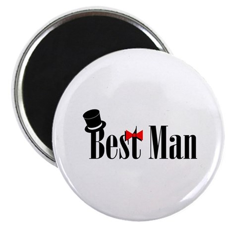 "Best Man 2.25"" Magnet (10 pack)"