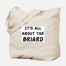 about the Briard Tote Bag