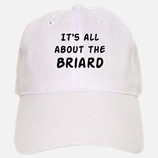 about the Briard Baseball Baseball Cap
