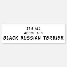 about the Black Russian Terri Bumper Bumper Bumper Sticker