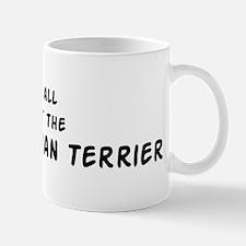 about the Black Russian Terri Mug