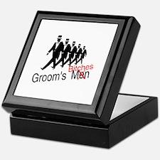 Groom's Bitches Keepsake Box