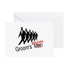 Groom's Bitches Greeting Card