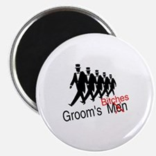 """Groom's Bitches 2.25"""" Magnet (10 pack)"""