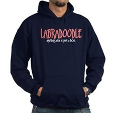 Labradoodle JUST A DOG Hoodie