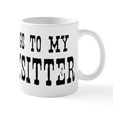 Belongs to Babysitter Mug