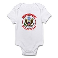 Diplomatic Pickle Infant Bodysuit