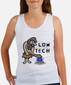 Low Tech Caveman Women's Tank Top