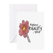 Believe in the Beauty Greeting Card