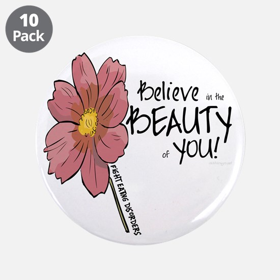 "Believe in the Beauty 3.5"" Button (10 pack)"