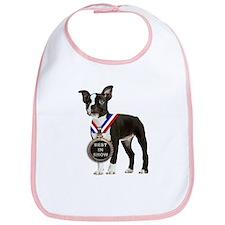 Best Boston Terrier Bib