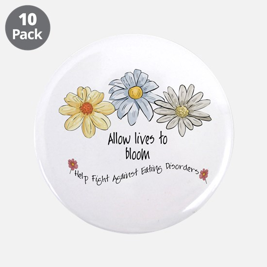 "Allow Lives to Bloom 3.5"" Button (10 pack)"