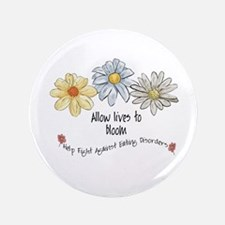 "Allow Lives to Bloom 3.5"" Button"