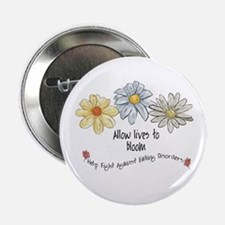"Allow Lives to Bloom 2.25"" Button"